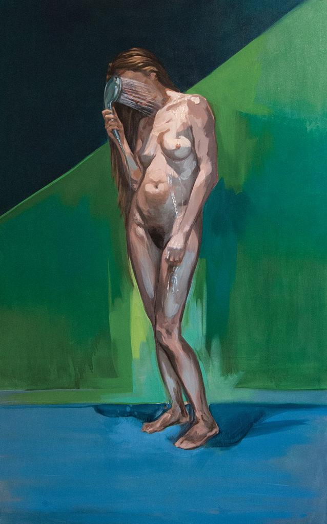 peinture à l huile femme
